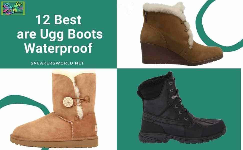 Best are Ugg Boots Waterproof