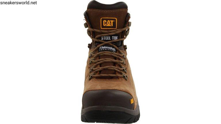 BEST work boots - Caterpillar Men's Diagnostic Waterproof Steel-Toe Work Boot