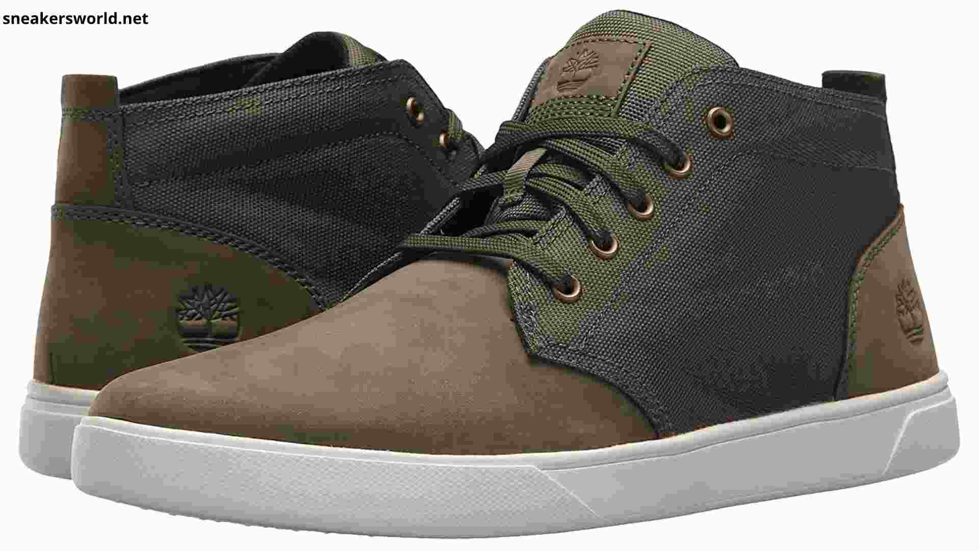 One of the Best Casual Sneakers for Men ,Men's Groveton LTT Chukka Leather & Fabric Sneaker