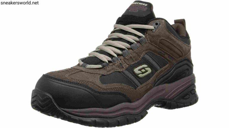 Best Work Boots - Skechers for Work Men's Soft Stride Canopy Slip Resistant Work Boot