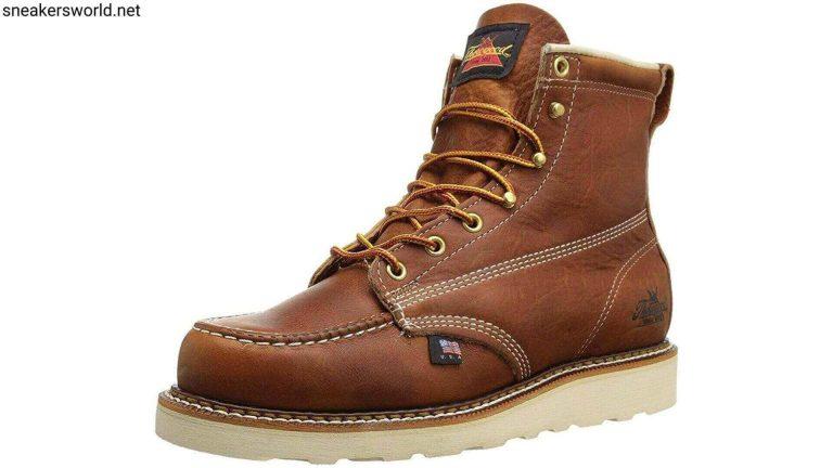 Thorogood Men's American Heritage 6 Moc Toe, MAXwear Wedge Non-Safety Toe Boot