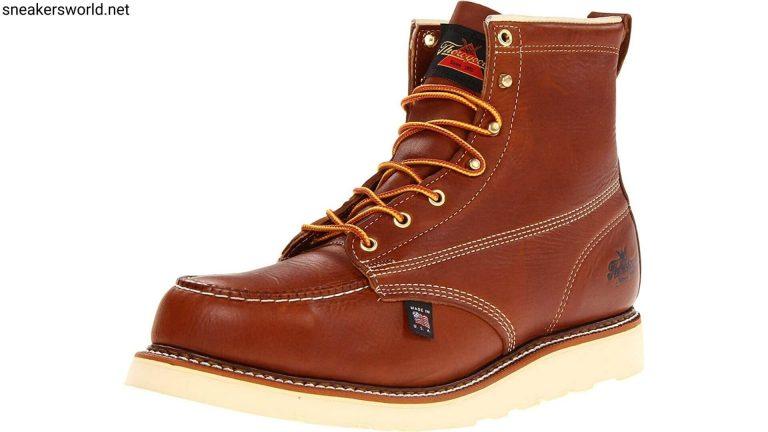 Thorogood Men's American Heritage 6 Moc Toe, MAXwear Wedge Safety work Boot
