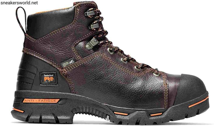 Timberland PRO Men's Endurance 6 Steel Inch Safety Toe Puncture Resistant Work Boot