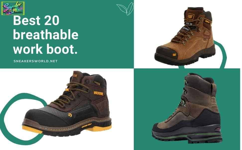 best breathable work boot