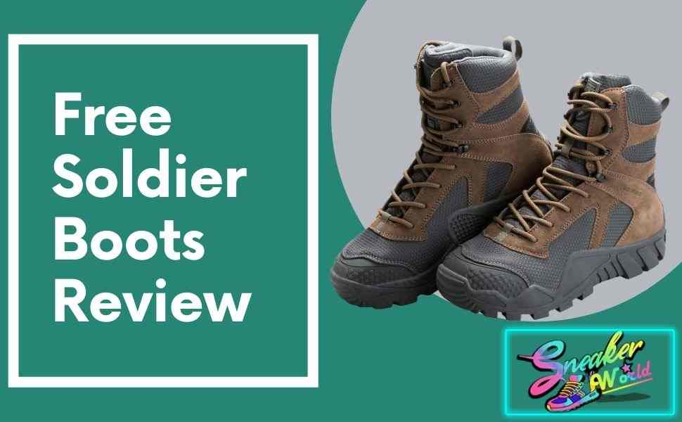 Free soldier boots review thumbnail: sneakersworld.net