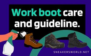 work boot care thumbnail : sneakersworld