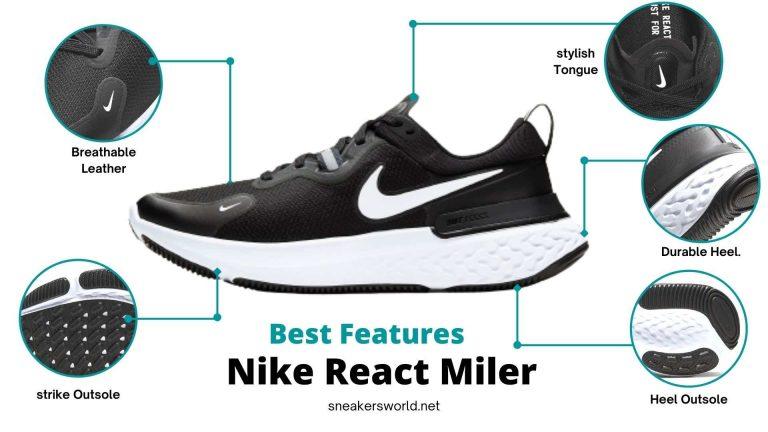 Best features in Nike React Miller in sneakersworld.net